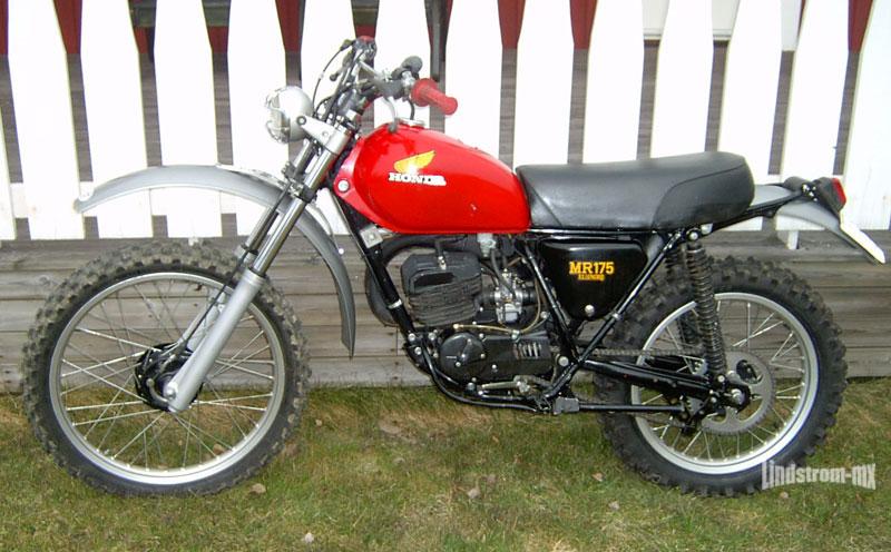 Honda Mr 175 1974 Veteranenduro Till Salu